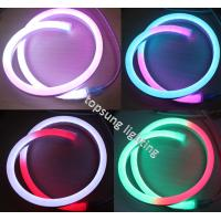 Wholesale 24V neon flex rope lights strip RGB pixel neon flexible ribbon from china suppliers