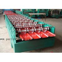 Wholesale Hydraulic Cutting 5.5KW Roof Rolling Forming Machine , Corrugated Sheet Making Machine from china suppliers