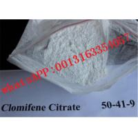 Wholesale Bodybuilding Anti Estrogen Steroid Clomifene Citrate / Clomid Powder  50-41-9 from china suppliers
