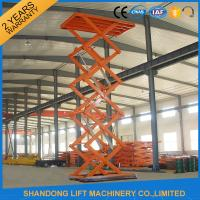 Wholesale CE Hydraulic Stationary Scissor Lift Work Table for Warehouse Cargo Lift from china suppliers