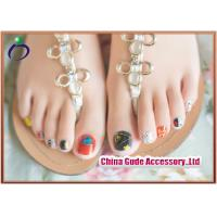 Buy cheap Full Cover Clear Diamond Artificial Nails and Sexy Lady 3D Fake Nail Tips from wholesalers