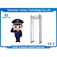 Wholesale 6/12/18 Zones Door Frame Metal Detector , Security Body Scanner For Security Inspection from china suppliers