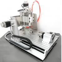 Wholesale Water Cooling Spindle 3D CNC 3040 Router , 4 Axis CNC Router Machine from china suppliers