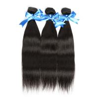 Quality Cuticle virgin Brazilian hair weave ,straight for sale