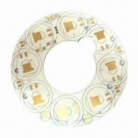 Buy cheap Single-sided Aluminum Base Circuit Board, Immersion Gold Surface Treatment from wholesalers