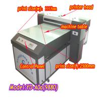 Wholesale YD-9880C uv wide format inkjet printer for glass from china suppliers