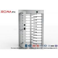 Wholesale High Security Full High Turnstile Access Control Use for Prison With Stainless Steel from china suppliers