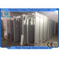 Wholesale 6 Independent Zones UB500 Door Frame Metal Detector Work Throuh Security Gate from china suppliers