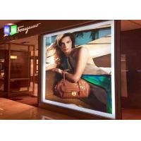 Buy cheap LED Lighted Snap Frame Sign with aluminum profile light box wall mounted artwork display from wholesalers