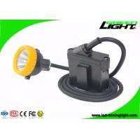 Wholesale GL8-C Cree Led Mining Light Cap Lamp , 10000 Lux IP68 Miners Lantern Headlamp with Cable from china suppliers