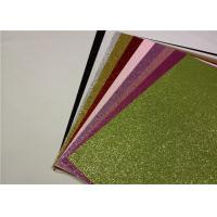 Quality Multi Color Glitter Card Stock Paper , 300gsm Or 200gsm A4 Glitter Card for sale