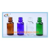 Wholesale Amber glass bottle for essential oil 20ml from china suppliers