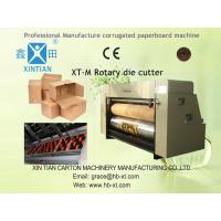 Buy cheap Carton Box Making Machine , Cardboard Rotary Die Cutter Machine With Lead Edge Feeding from wholesalers