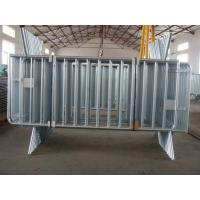 Wholesale Galvanized Crowd Control Barriers for Road/Removable Foot Crowd Control Barriers from china suppliers