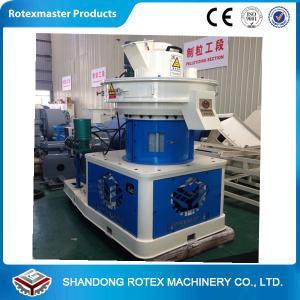 Quality Vertical Ring Die Pelletizing Equipment  / wood pellet making machine for sale