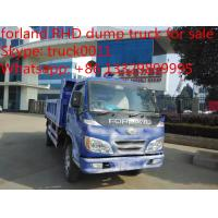 Wholesale Forland RHD twin cab mini dump truck from china suppliers