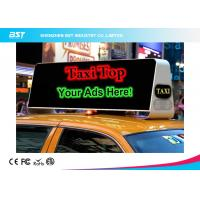 Wholesale Commercial Taxi Rooftop Advertising Led Display 40000dots/Sqm , High Brightness from china suppliers