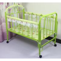 Wholesale custom iron baby bed crib from china suppliers