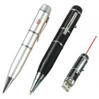 Wholesale Cheapest Promotional 128MB, 256MB, 512MB usb laser pointer pen printed logo from china suppliers