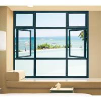 Quality Grey Commercial Casement Windows for sale