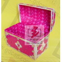 Wholesale Water Proof Black Square Recycled Paper Gift Boxes , T - shirt / Cloth from china suppliers