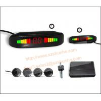 Quality Hot-selling LED car Reverse parking sensor with Extra slim display. for sale