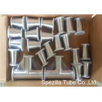 Wholesale TP316L Sanitary Valves And Fittings 1/2'' - 4'' Stainless Steel Reducing Tee Cross Ends from china suppliers