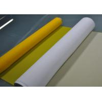 Wholesale White / Yellow 61T Polyester Screen Mesh For Printed Circuit Boards Printing from china suppliers