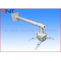 Wholesale White Office Wall Mount Short Throw Projector Bracket Can Freely Adjust The Angle from china suppliers