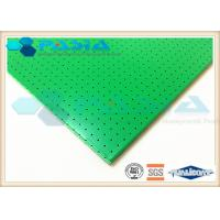 China Sound Insulation Clean Room Ceiling Panels , Aluminium Sandwich Sheet 1220*2440 Mm2 on sale