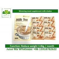 Wholesale Herbal Supplement Meal Replacement Tea Powder , Fat Burning Shakes Weight Loss from china suppliers