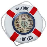 Wholesale 2012 Decorative Life Buoy with Clock from china suppliers
