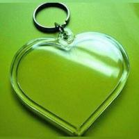 Wholesale Plastic Photo Keychain, Suitable for Promotions, Various Designs and Colors Welcomed from china suppliers