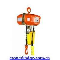 Wholesale 380V CE approved HHXG electric chain hoist from china suppliers