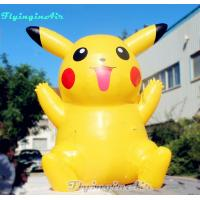 Pocket Monster Model Inflatable Pikachu with Blower for Events