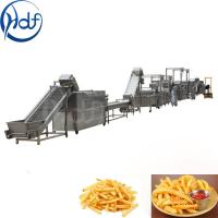 Wholesale Full Automatic Fresh Frozen French Fries Production Line Machine Potato Chips Machine For Factory Plan from china suppliers