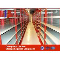 Wholesale Steel Pipe Warehouse Storage Racks , Heavy Weight Warehouse Metal Storage Shelf from china suppliers