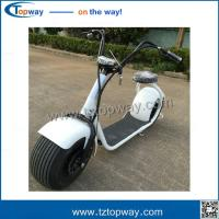 Wholesale Latest Arrival 2017 Fat Tire E-Scooter 50km Halei E-scooter one/two seat from china suppliers