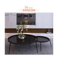Wholesale Industrial Italy Modern Luxury Metail Black Combination Coffee Table For Living Room from china suppliers