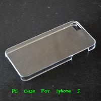 Wholesale Apple Iphone 5 5G 5th Crystal Clear Hard Case Back Protected Cover -Paypal Accepted from china suppliers