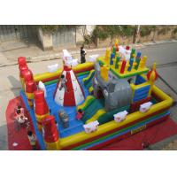 Wholesale Quadruple Stitching Inflatable Play Center Pleasant Goat Theme Outdoor from china suppliers