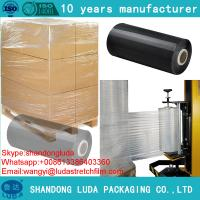 Wholesale Clear Jumbo and Small Roll Stretch Film plastic pe stretch film from china suppliers