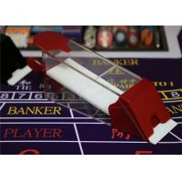 Wholesale Magic Red Baccarat Dealing 8 Decks Poker Shoe Cheating Devices With HD Camera from china suppliers