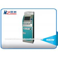 Wholesale 17 Inch Free Standing Hospital Check In Kiosk With Multi Touch Screen And Printer from china suppliers