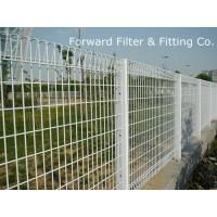 Wholesale Safety Stadium SS 201 PVC Coated Fence , Green Coated Chain Link Fence from china suppliers