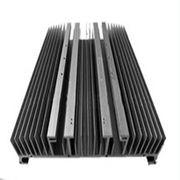 Wholesale Heat Sinks For Decorations , Extruded Aluminum Heatsink AL6000 Anodized Electrophoresis from china suppliers