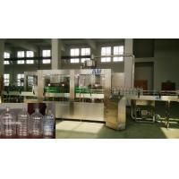 Wholesale 3 In 1 Rotary / Linear Automatic Water Filling Machine , Drinking Water Bottling Plant from china suppliers