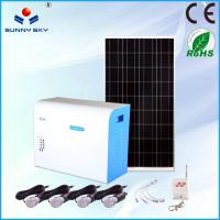 Buy cheap 500w green energy mini solar system home solar power system use from wholesalers