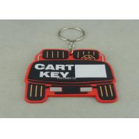 Wholesale Stamping / Die Casting Rubber Key Chain , Design Your Own Custom Shaped Keychains from china suppliers