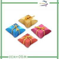 Wholesale Funny Popular Girls Pillow Small Candy Boxes With Ribbon Bow Tie from china suppliers
